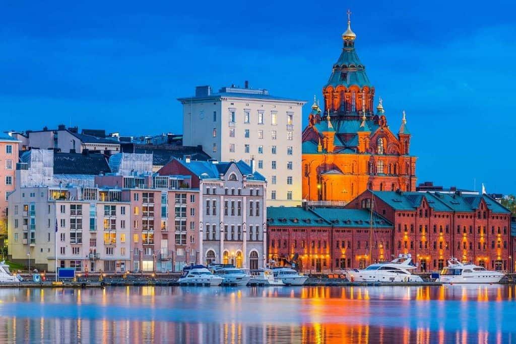 Thủ đô Helsinki - Phần Lan, nơi có rất nhiều nhà hàng Việt